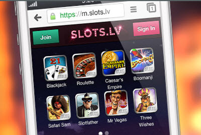 Slots.lv exclusive no deposit bonus offer