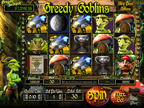 Greedy Goblins 3D slot