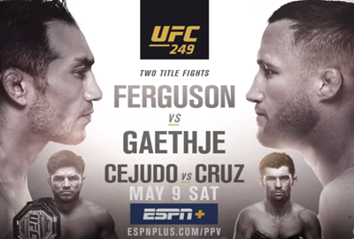Sports Betting is Back UFC 249 Odds and Predictions