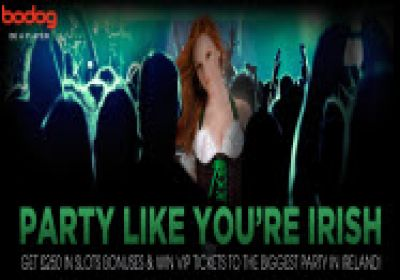 Party like Youre Irish