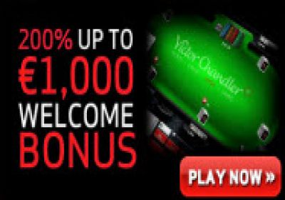 Victor Chandler Poker €10,000 Guaranteed New Player Free roll