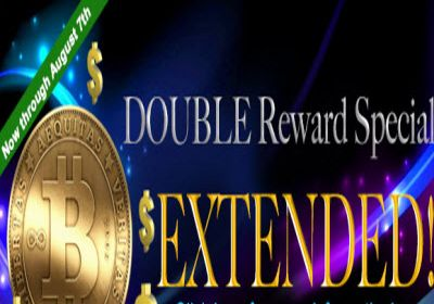 5Dimes Double Reward Special ends August 7th
