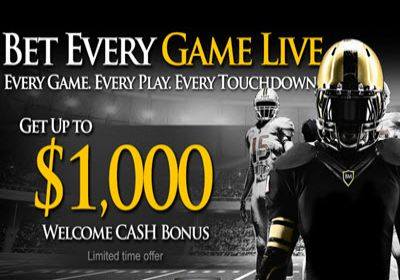 NFL Sports Betting: This week's best Sign Up Bonus