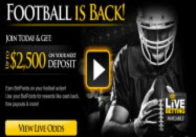 $2,500 Bonus Code Offer For All Players At Bookmaker