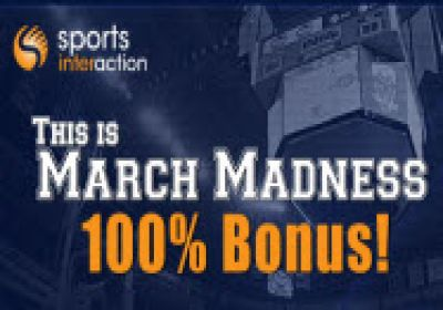 SportsInteraction March Madness 100% Bonus
